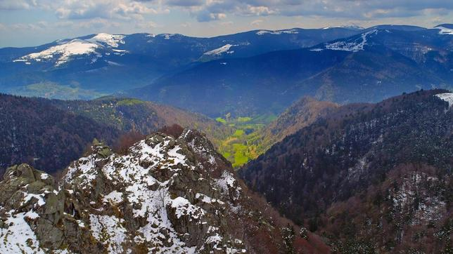 Berge Wildes Elsass